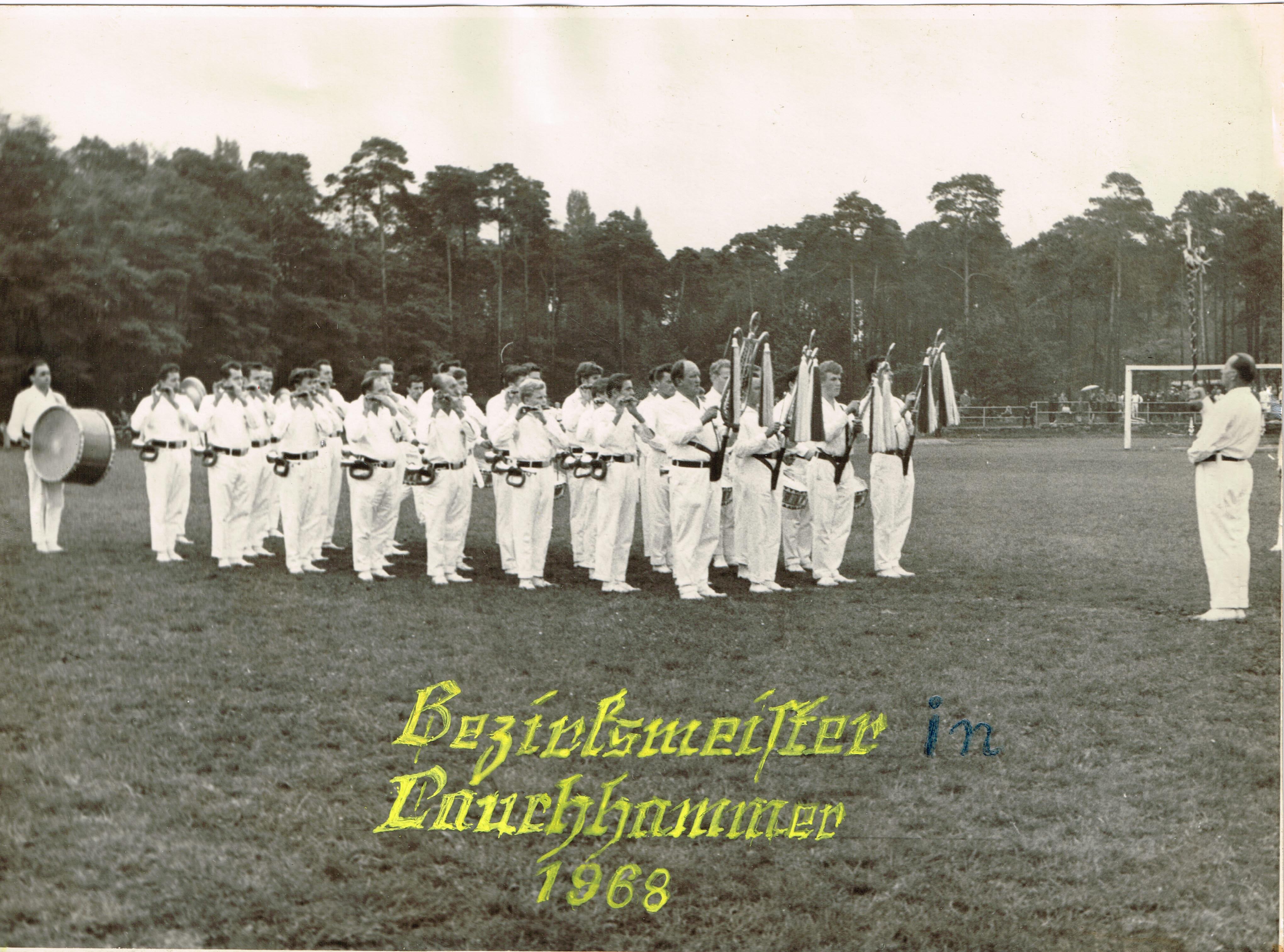 1968 Erwachsene Bezirksmeister Lauchhammer 1968