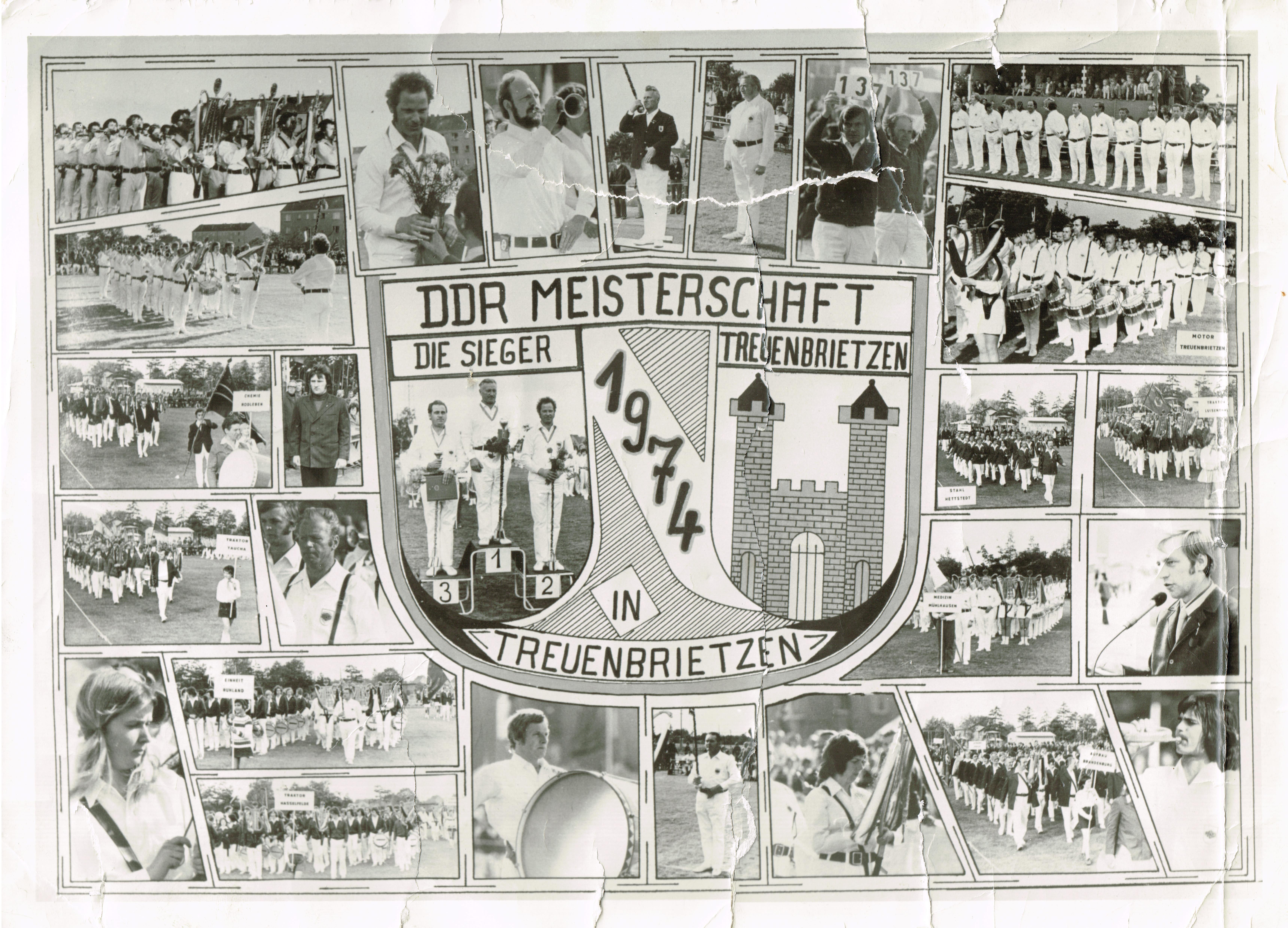 1974 DDR Meisterschaft Treuenbrietzen
