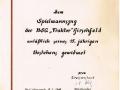 1963 Urkunde 15jähriges Bestehen