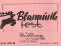 1988 Eintrittskarte Musikfest 1988 Hirschfeld