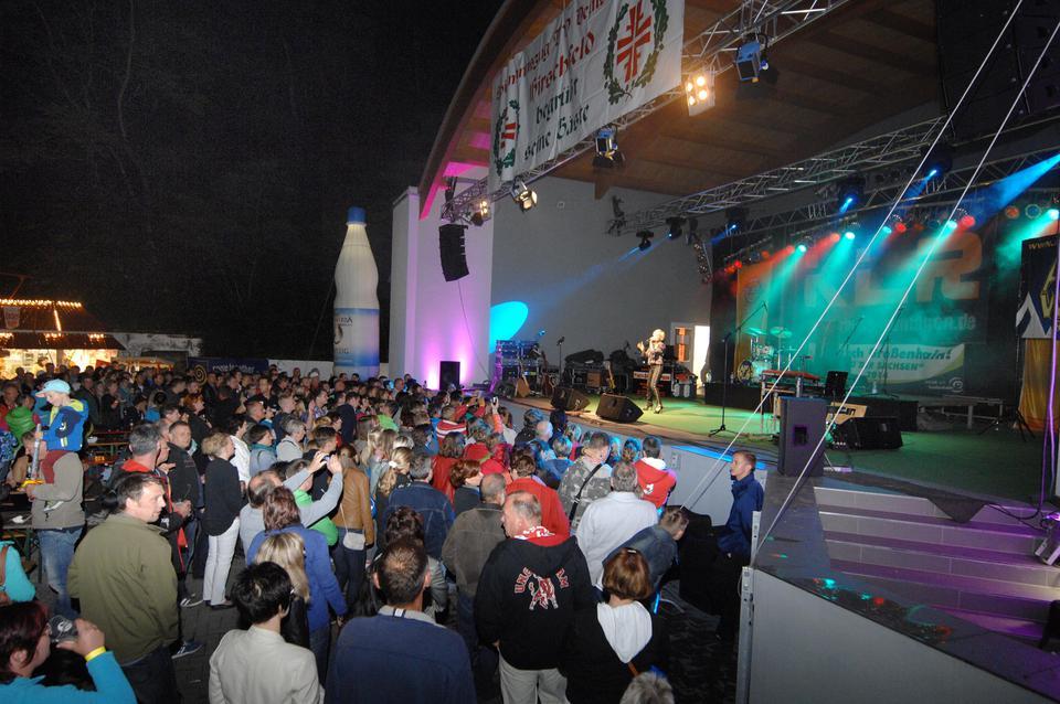 Schlagernacht beim Internationalen Musikfest in Hirschfeld mit M