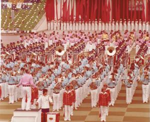 Musikschau in Leipzig 1977
