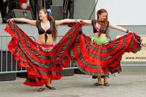 Holländische Tänzer